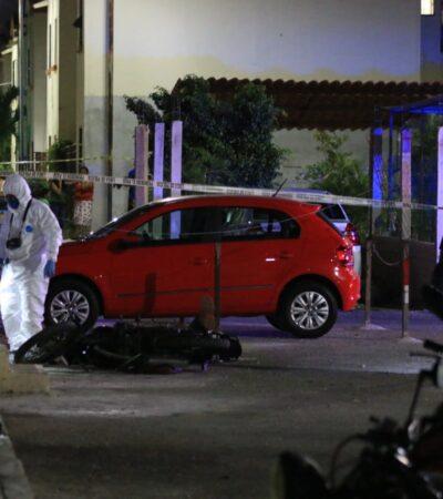 Asesinan a balazos a un hombre frente a un parque de la Región 259 de Cancún