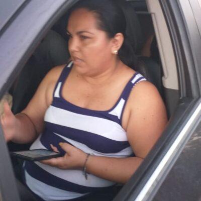 Detienen a regidora de Puerto Morelos por no respetar filtro policiaco