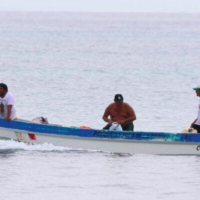 Piden pescadores cozumeleños permiso a Capitanía de Puerto para salir al mar y alimentarse