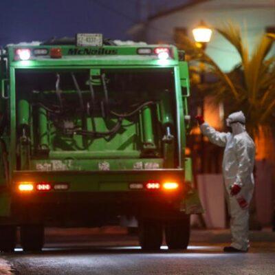 Camión recoge más de 2.3 toneladas de desechos infectocontagiosos en hospitales de Cozumel