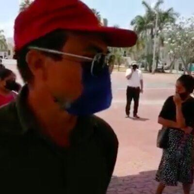 EJECUTAN EN TULUM A HOMBRE QUE PIDIÓ DESPENSAS DEL 'CHAPO' PARA QR: Hallan muerto a sujeto que ayer se manifestó en el Palacio Municipal de Solidaridad para exigir apoyos por la contingencia del COVID-19