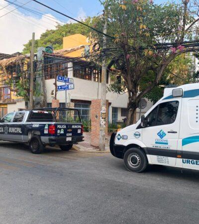 Muere presunto indigente por consumo excesivo de alcohol en Playa del Carmen