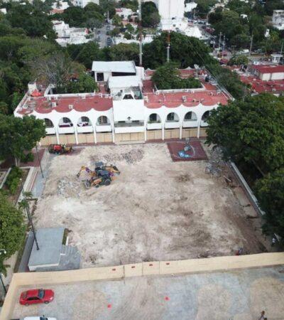 Publican autorización para modificar la Plaza de la Reforma, tresdías después del 50 Aniversario de Cancún