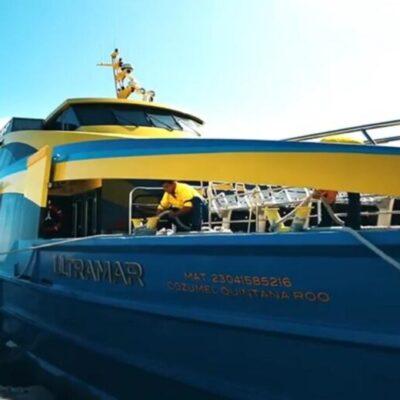 Pide Juan Carrillo a Ultramar que sólo residentes y proveedores sean admitidos en el ferry a Isla Mujeres