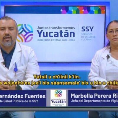 Rebasa Yucatán los 300 casos positivos de COVID-19; suman 25 fallecidos