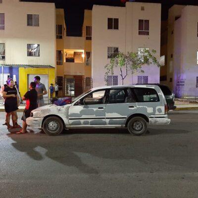 Atropella a un peatón que se paró a mitad de la calle en Cancún porque pensó lo quería asaltar