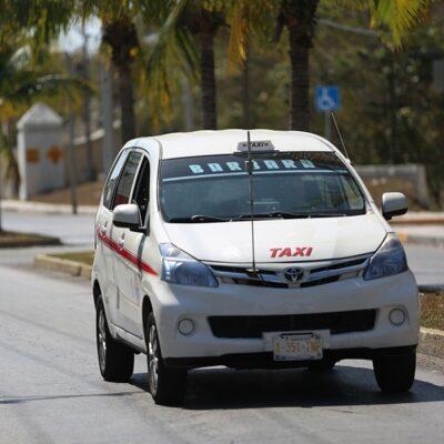 Servicio de taxi disminuye un 85% en la isla de Cozumel durante la contingencia sanitaria