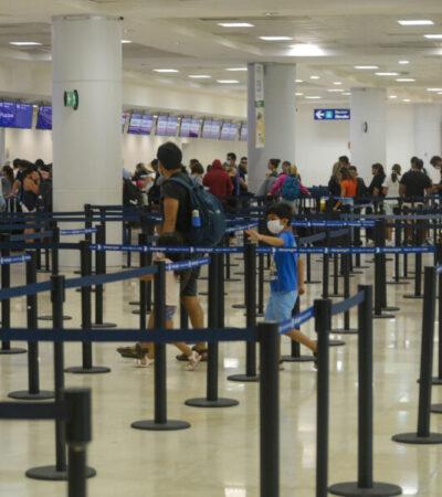 Sufren aeropuertos de Cancún y Cozumel desplome turístico por Covid-19