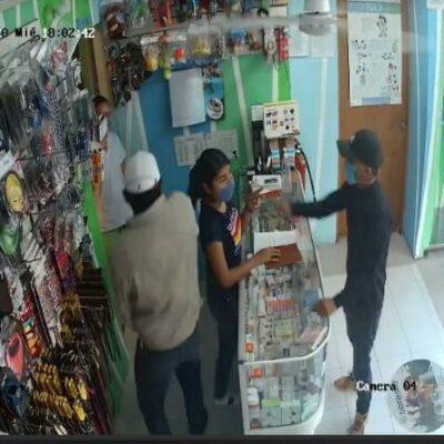 Asaltan tienda y consultorio de mascotas en Cancún