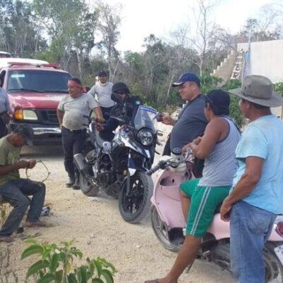 Encuentran a hombres reportados como extraviados bebiendo con su vecino en Tulum