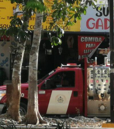 Explota tanque de gas en una carnicería en Playa; tres heridos hasta el momento