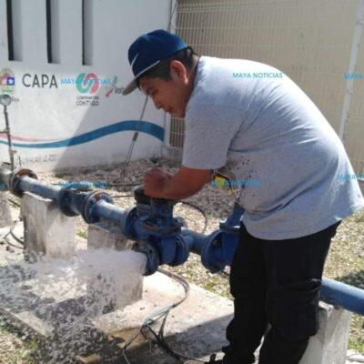 Fallos eléctricos dejan sin agua a ocho colonias de Felipe Carrillo Puerto