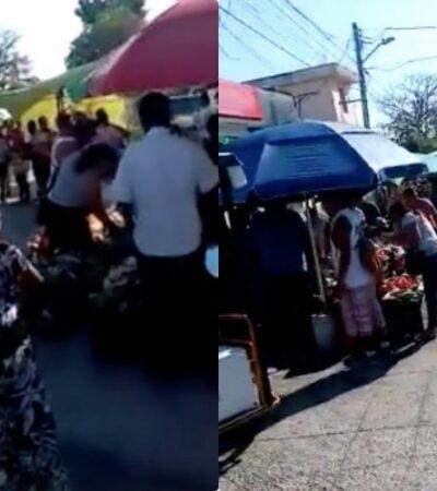 """""""DESASTROSO!!! SIMPLEMENTE NO ENTIENDEN"""": No hay sana distancia, la gente no se queda en casa, así el domingo en Cancún y así se queja el jefe policiaco de QR"""