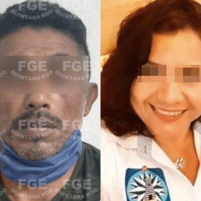 PRELIMINAR   Capturan al presunto asesino de empleada del Ayuntamiento de Isla Mujeres