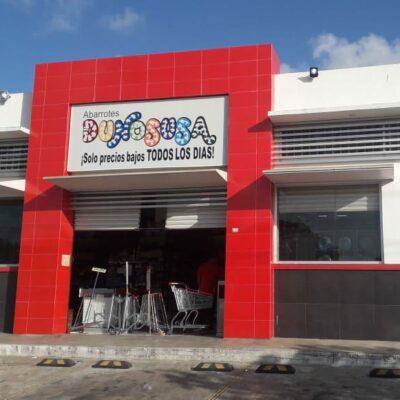 Asaltan en Cancún tienda de cadena yucateca de abarrotes