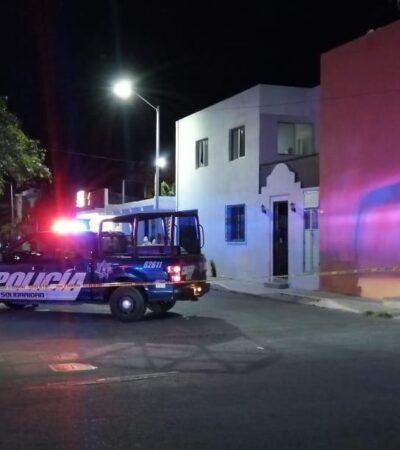 Disparan contra fachada en colonia 28 de Julio de Playa del Carmen; presuntamente hay un herido