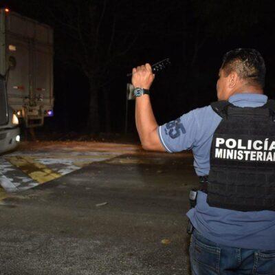 Ubican en Campeche a asaltantes de vehículos en la Chetumal-Escárcega