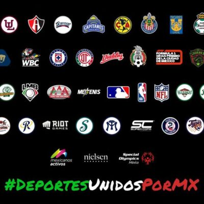 Los Leones de Yucatán y la LMB se suman a la iniciativa 'Deportes Unidos Por México'