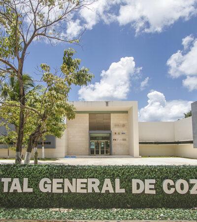 Cuenta el hospital general de Cozumel con abasto de material y equipo para atender casos de coronavirus