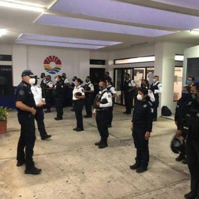 No hay incremento en el servicio de la Polícia Auxiliar, pese a amenazas de saqueos en Cancún