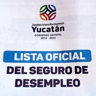 Ex alcalde, funcionaria y empresarios pidieron Seguro para el Desempleo en Yucatán