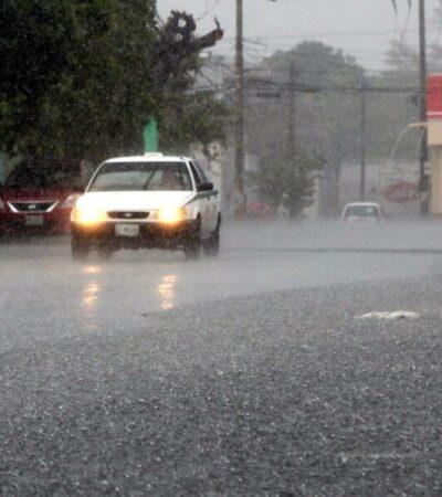 Se registran las primeras lluvias de la temporada en QR