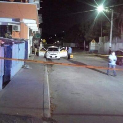 Dan golpiza a hombre que intentó asaltar a taxista en Chetumal