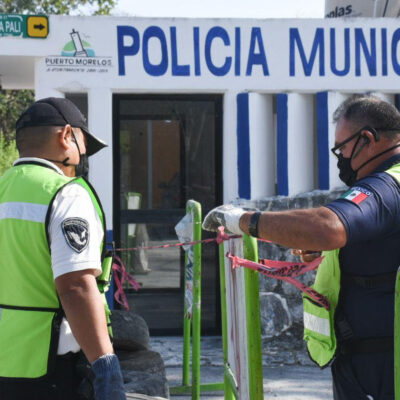 Entran en vigor estrictas medidas en Puerto Morelos ante fase 3 de COVID-19