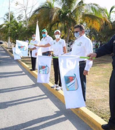 Ponen en marcha programa de sanitización masiva en Puerto Morelos