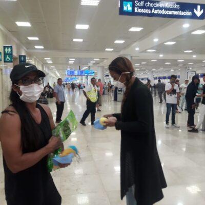 Más de 10 mil turistas permanecen varados en Quintana Roo por coronavirus