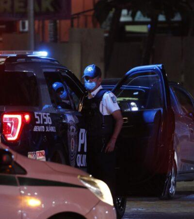 Por robo a mano armada, detienen en Cancún a cinco jóvenes, entre ellos dos mujeres