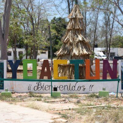 Quejas y acusaciones de proselitismo en entrega de despensas en comunidades de Felipe Carrillo Puerto