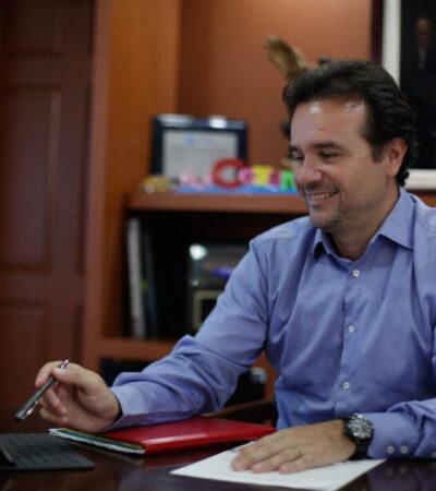 Mantiene Cozumel cifras de contagios de Covid-19 por debajo de las previstas, asegura Pedro Joaquín