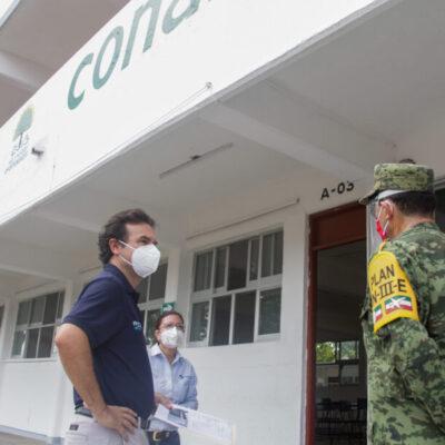 Inspeccionan que instalaciones de refugios anticiclónicos en Cozumel estén en buenas condiciones
