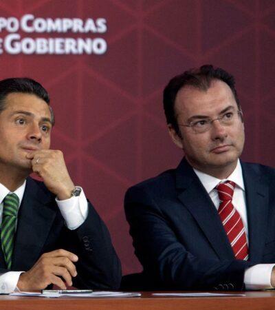 Investigaciones de corrupción podrían llegar a Peña Nieto y Videgaray, Advierte Santiago Nieto