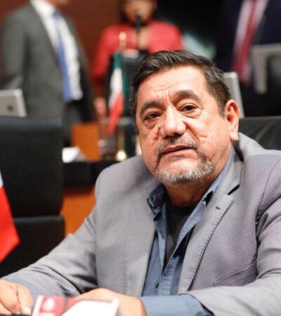 Salgado Macedonio deja el Senado; iría por la gubernatura de Guerrero