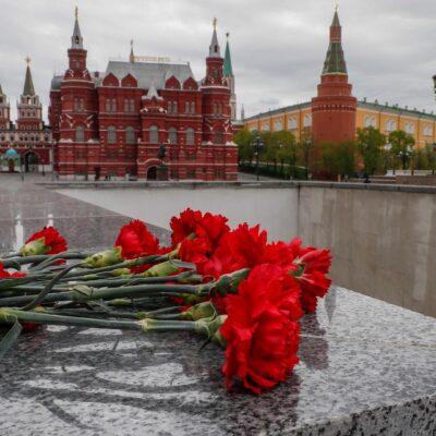 Rusia celebra el Día de la Victoria en confinamiento