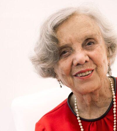 Elena Poniatowska cumple 88 años de edad y 67 de una prolífica carrera