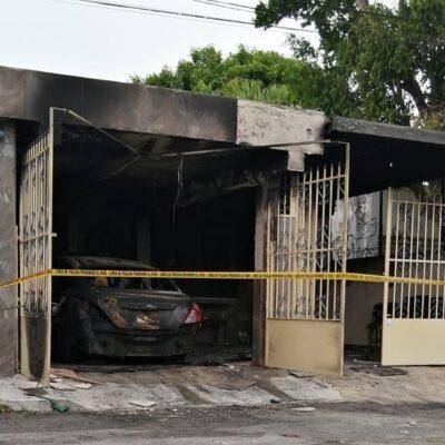 Denuncian en redes agresión a enfermera en Mérida… prendieron fuego a su auto