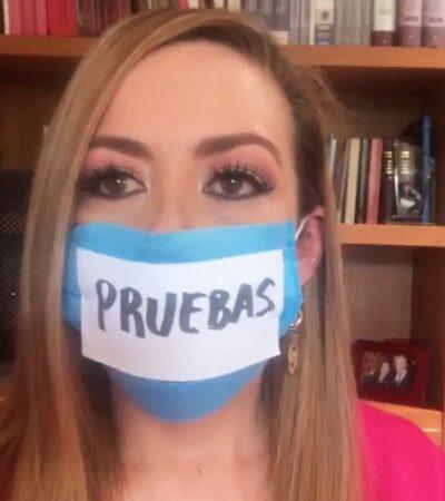 Acusan López-Gatell de 'violencia política de género' contra Senadora panista