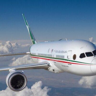 Circulan versiones de que empresario tabasqueño buscaría adquirir el avión presidencial