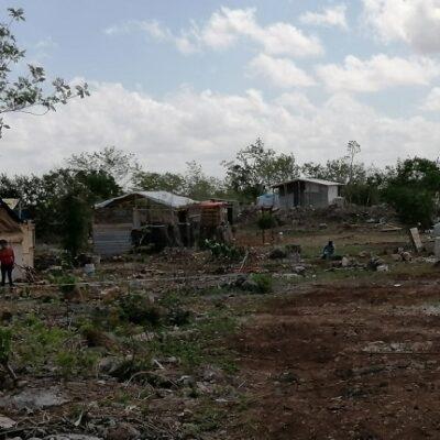 Pobladores claman ayuda en zona marginada al sur de Mérida