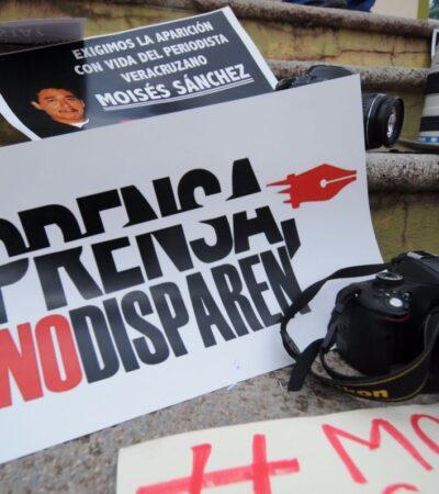 Persisten agresiones contra periodistas en México