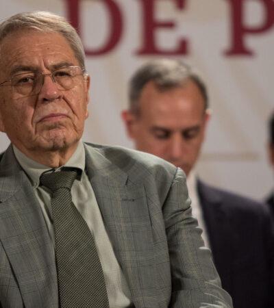 Senadores de PAN exigen renuncia de Jorge Alcocer, Hugo López-Gatell y Zoé Robledo