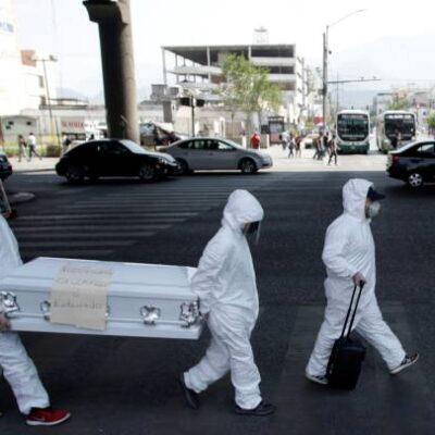 """""""HOY NO, NO SE ACABA LA EPIDEMIA"""": Suma México 90,664 contagios y 9,930 muertos en la víspera de la 'nueva normalidad'"""