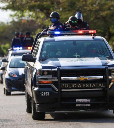 Van ocho policías muertos por COVID-19 en Cancún y Playa en el último mes