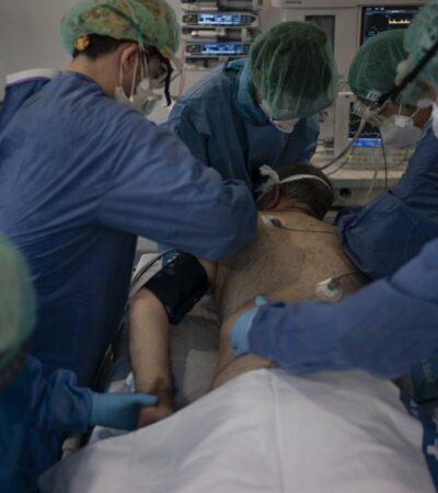 185 pacientes hospitalizados por COVID-19 en Tabasco y 180 más sin confirmar