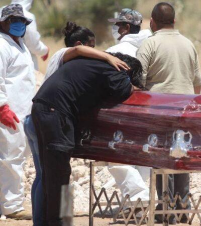 México es el tercer país de América con mayor número de muertes por COVID-19 y el décimo en el mundo