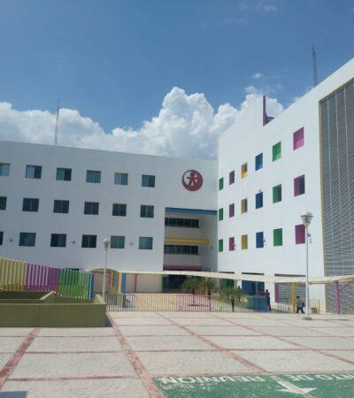 Aíslan a 82 trabajadores de hospital pediátrico en Chiapas por sospechas de COVID-19
