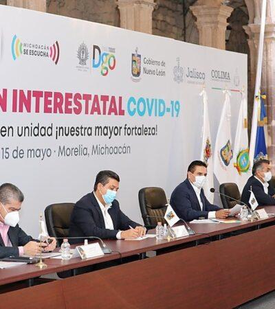 CRECE FRENTE DE GOBERNADORES: Piden a Hacienda resarcir gastos extraordinarios por COVID-19 en estados